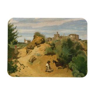 Ímã Jean-Baptiste-Camilo Corot - Genzano