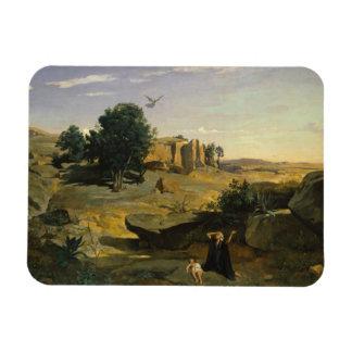 Ímã Jean-Baptiste-Camilo Corot - Hagar