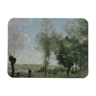Ímã Jean-Baptiste-Camilo Corot - lembrança de Coubron