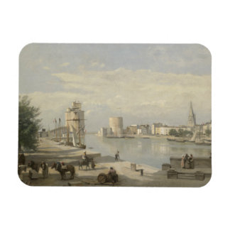 Ímã Jean-Baptiste-Camilo Corot - o porto