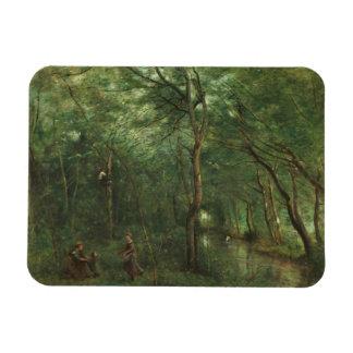 Ímã Jean-Baptiste-Camilo Corot - recolectores da