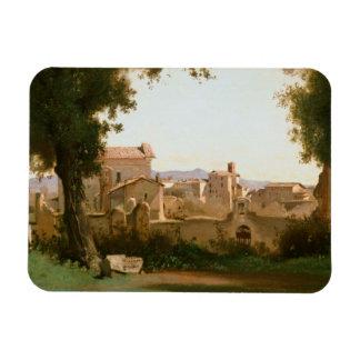 Ímã Jean-Baptiste-Camilo Corot - vista do Farnese