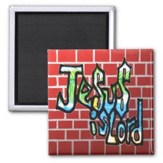 Imã Jesus é senhor no tijolo vermelho