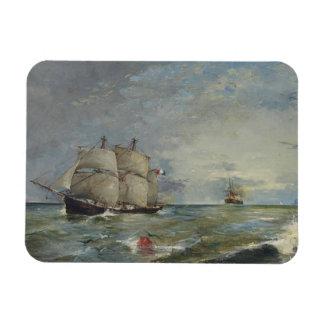 Ímã Joaquin Sorolla - veleiros no mar