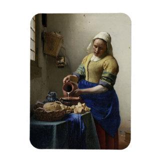 """Ímã Johannes Vermeer """"o Milkmaid """""""