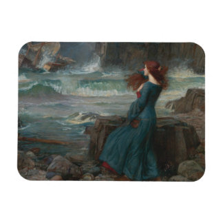 Ímã John William Waterhouse - Miranda - a tempestade