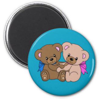Imã Junto para sempre ímã do urso de ursinho