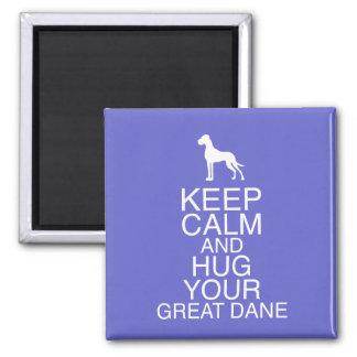 Imã Keep On, Hug your Dane