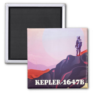 Imã Kepler - poster de viagens 1647B