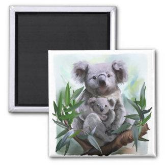 Imã Koala e seu bebê