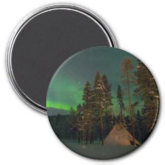 Imã Kota da aurora boreal