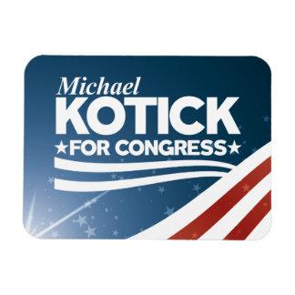 Ímã Kotick - Michael Kotick para o congresso