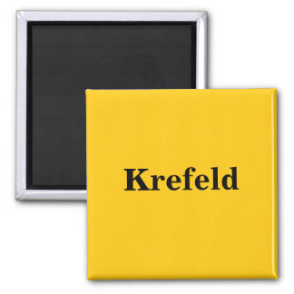 Imã Krefeld íman escudo Gold Gleb