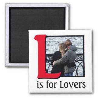 Imã L para amantes