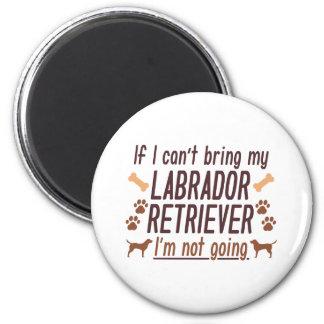 Imã Labrador retriever