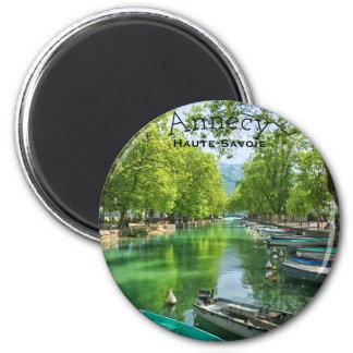 Imã Lago ímã redondo de Annecy, Haute-Sabóia