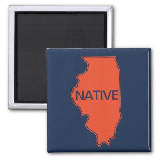 Imã Laranja nativa do marinho de Illinois