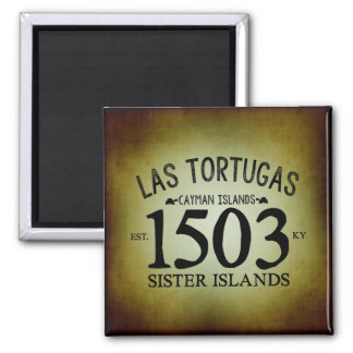 Imã Las Tortugas EST. 1503 rústico