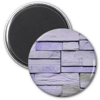 Imã Lavanda moderna Funky tijolos empilhados