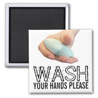 Imã Lave suas mãos satisfazem