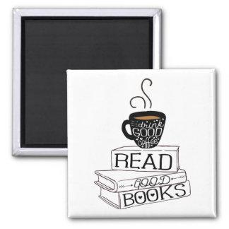 Imã Leia bons livros, bom café da bebida