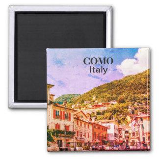 Imã Lembrança da cidade de Italia Como do vintage