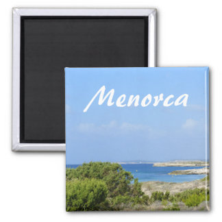 Imã Lembrança da costa de Menorca