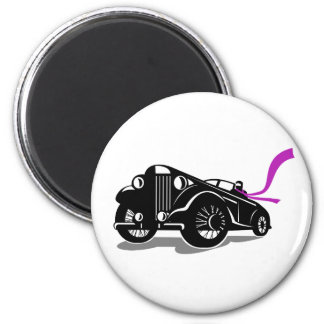 Imã Lenço do Roadster do vintage retro