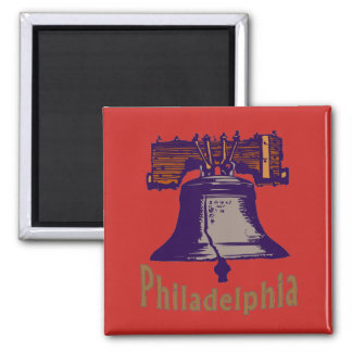 Imã Liberty Bell em Philadelphfia