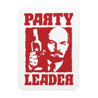 Ímã Líder partidário engraçado de Vladimir Ilyich