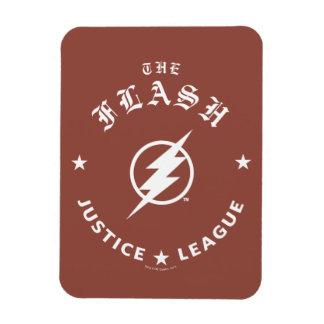 Ímã Liga de justiça   o emblema retro instantâneo do
