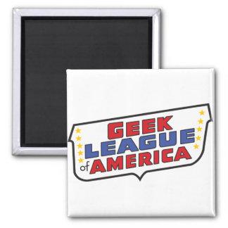 Imã Liga do geek do ímã de América