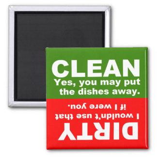 Imã Limpe o ímã sujo da máquina de lavar louça