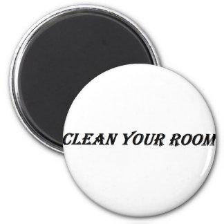 Imã limpe sua sala