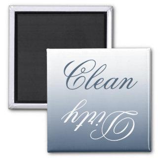 Ímã limpo/sujo da máquina de lavar louça de Ombre Ímã Quadrado