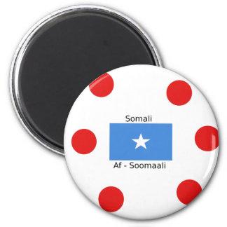 Imã Língua e design somalianos da bandeira de Somália