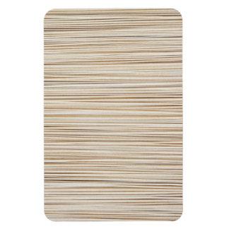 Ímã Linhas de madeira abstratas bonitos design
