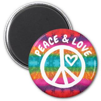 Imã Listras da tintura do laço da paz e do amor