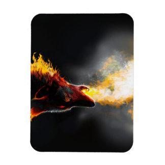 Ímã Lobo do fogo