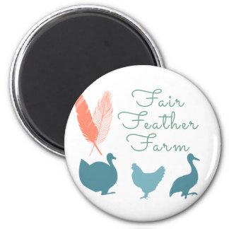 Imã Logotipo da fazenda da pena de FarmTransparentFair