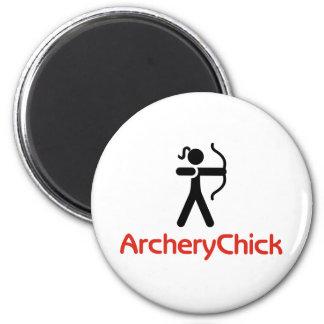 Imã Logotipo de ArcheryChick
