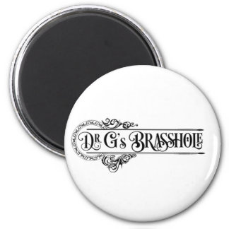 Imã Logotipo de Brasshole