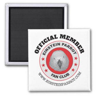 Imã Logotipo do clube de fãs do papagaio do cinza