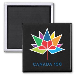 Imã Logotipo do oficial de Canadá 150 - multicolorido