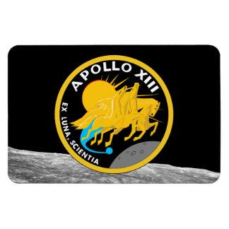 Ímã Logotipo do remendo da missão da NASA de Apollo 13