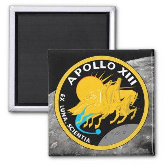 Imã Logotipo do remendo da missão da NASA de Apollo 13