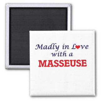 Imã Louca no amor com um Masseuse
