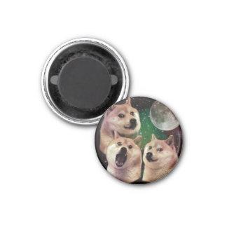 Imã Lua do Doge - espaço do doge - cão - doge - shibe