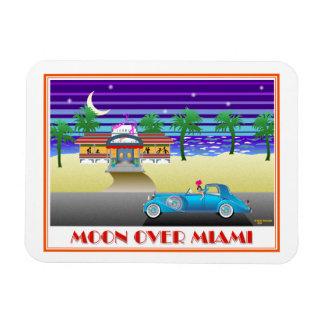 Ímã Lua sobre Miami