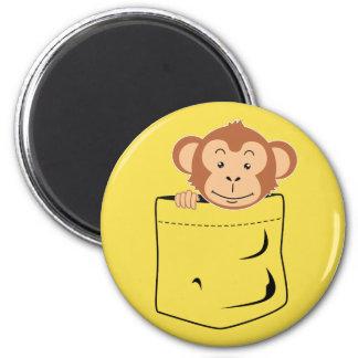 Imã Macaco no bolso